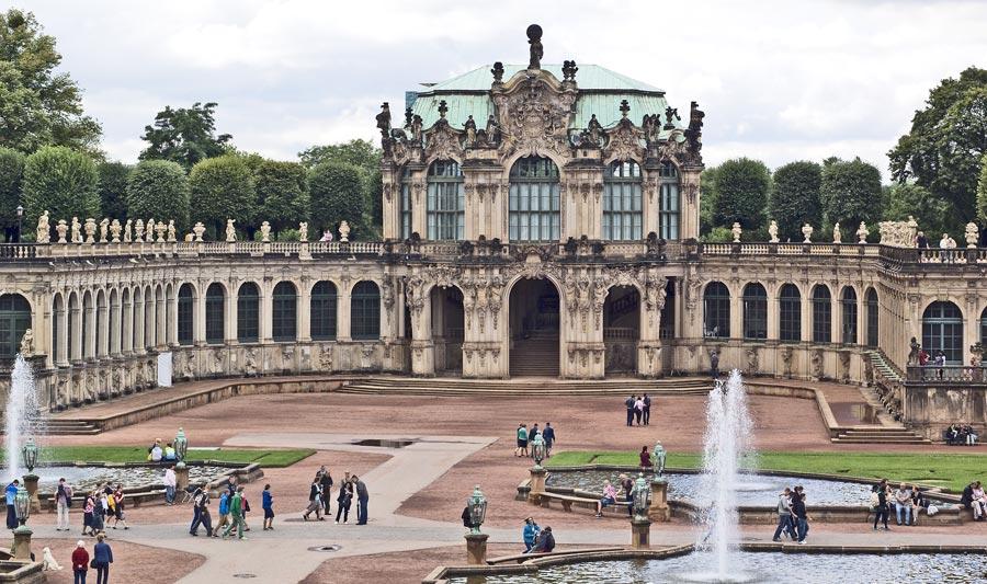 Zwinger, Dresden Sehenswürdigkeit