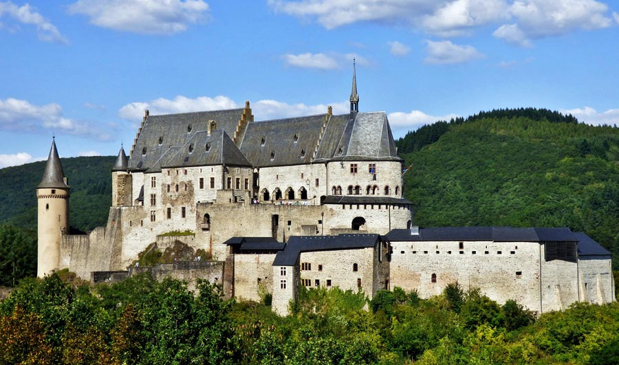Luxemburg Highlights: Burg Vianden