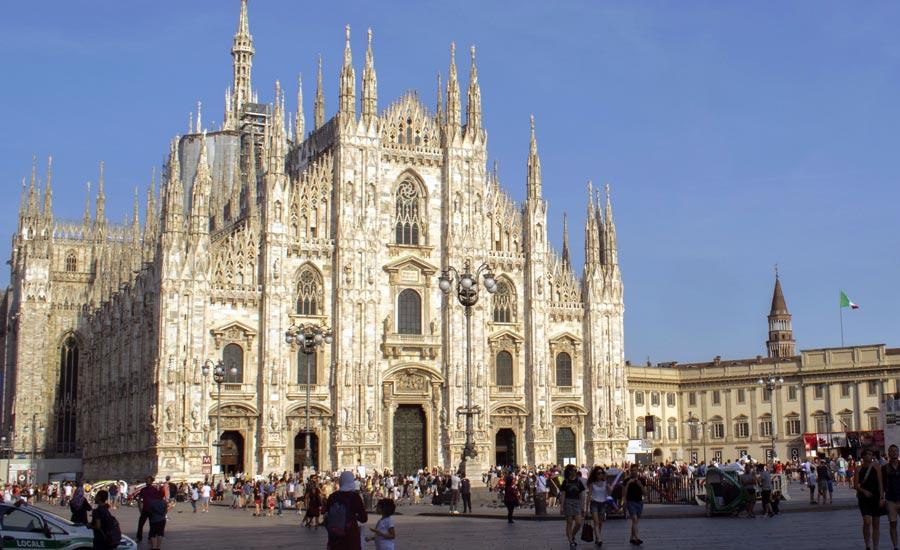 Mailand Dom, Italien Attraktion