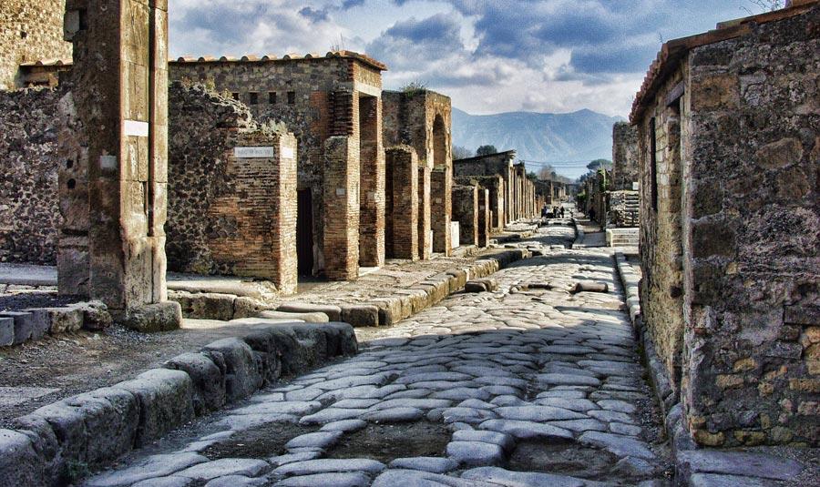 Pompeji, Vulkan, Lava, Italien