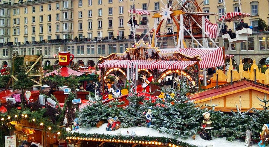 Striezelmarkt, Stadt Dresden