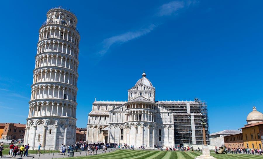 Schiefe Turm von Pisa, Italien Sehenswürdigkeiten