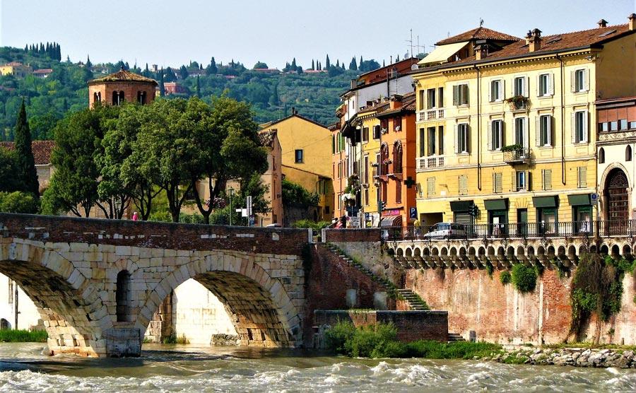 Verona Stadt, Italien Sehenswürdigkeiten