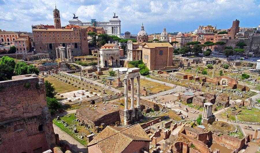 Forum Romanum, Rom Sehenswürdigkeiten
