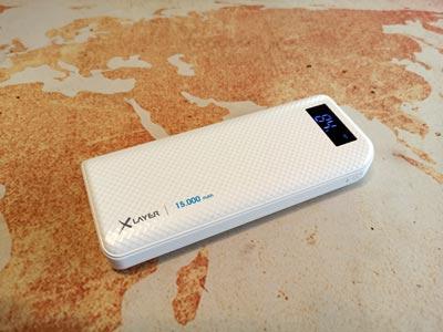 Powerbank Test: Akku Xlayer 15000 Milliamperestunden Kapazität