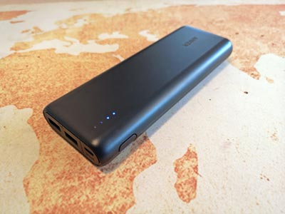 Powerbank Test: Anker Powercore 20100
