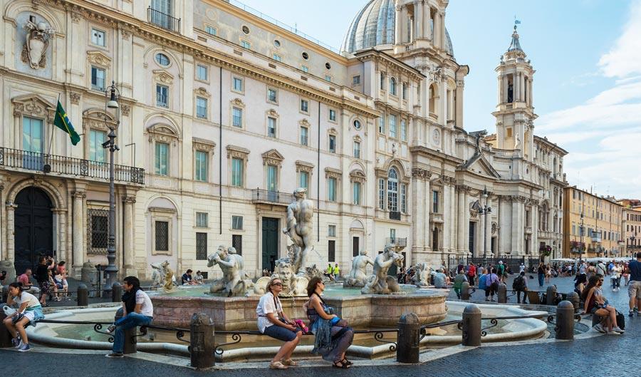 Rom Highlights: Piazza Navona, Platz