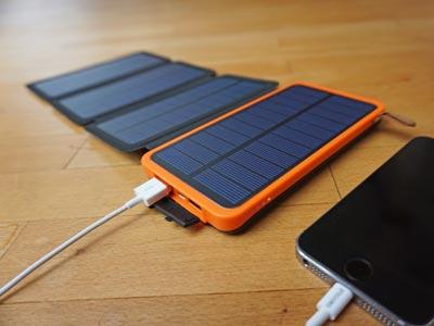 Solar Powerbank: X-Dragon 10000 mAh Kapazität