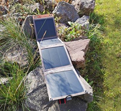 Solar Ladegerät: Choetech 14 Watt Solarmodul