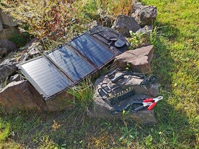 Solar Ladegerät: Goalzero 7 Watt Solarzelle
