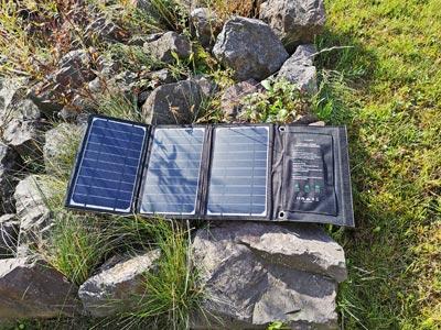 Solar Ladegerät Test: RavPower 16 Watt