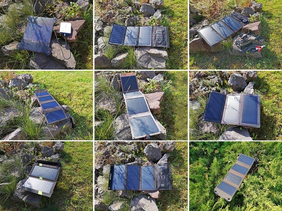 Solar Ladegerät Test: Top tragbare Panels