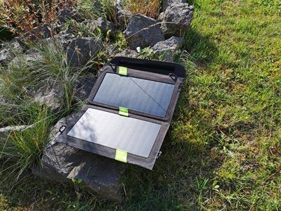 Solar Ladegerät Test: X-Dragon 14 Watt