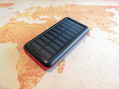 Solar Powerbank Test: Akeem 24000