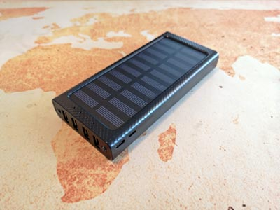 Solar Powerbank Test: Gnceei 24000 Milliamperestunden