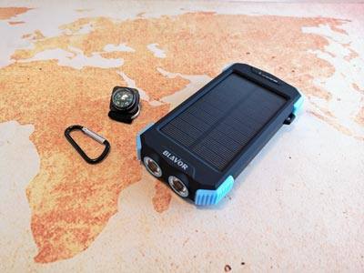 Solar Powerbank Test: Blavor Akku 10000 Milliampere