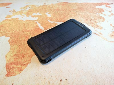 Solar Powerbank Test: RavPower Akku 10000