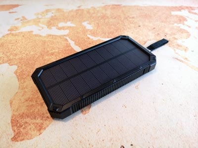 Solar Powerbank Test: Soluser Akku, 15000