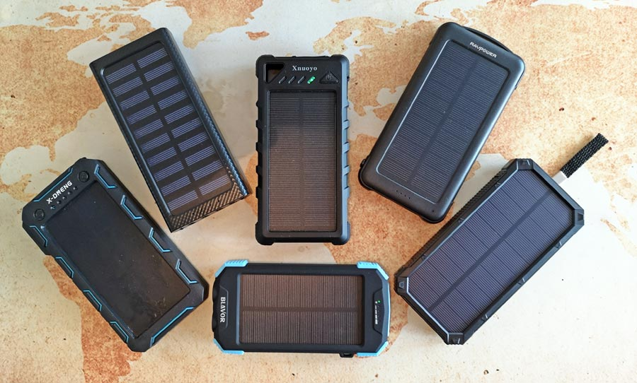 Solar Powerbank Test und Vergleich 2019