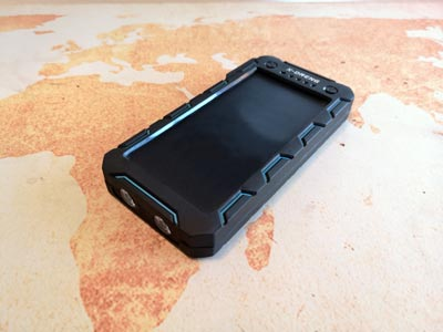 Solar Powerbank Test: X-Dneng 15000 mAh