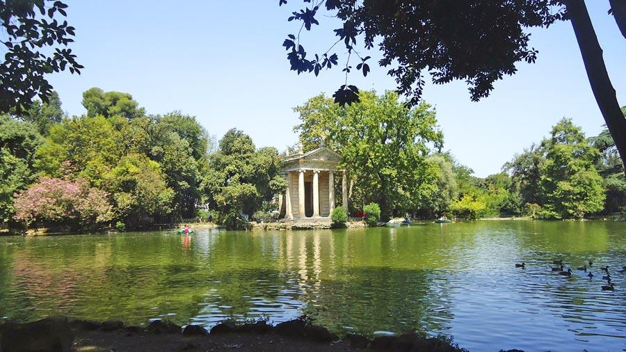 Rom Sehenswürdigkeiten: Villa Borghese
