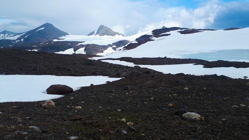 Gletscher bei der Rabothytta