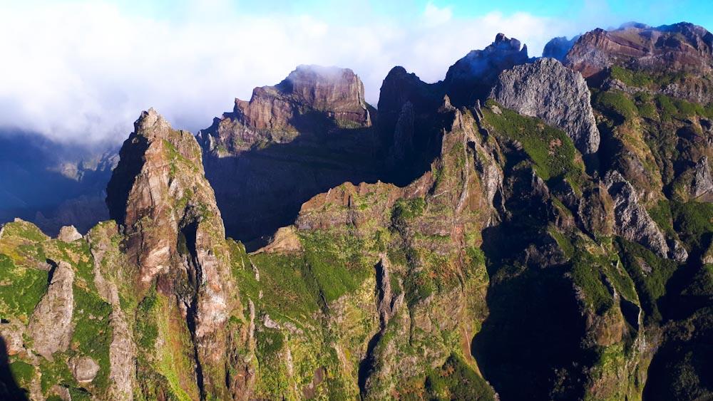 Wanderung zum Pico Ruivo auf Madeira