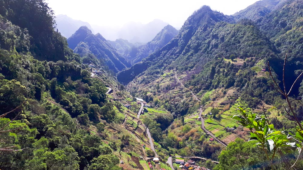 Levada Wanderung Caldeirao Verde