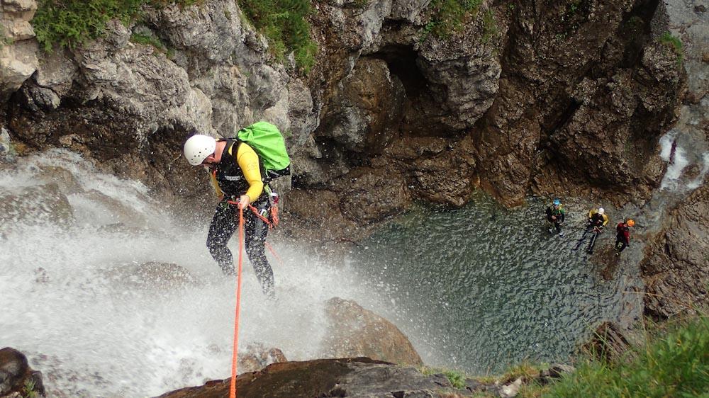 Canyoning auf Madeira