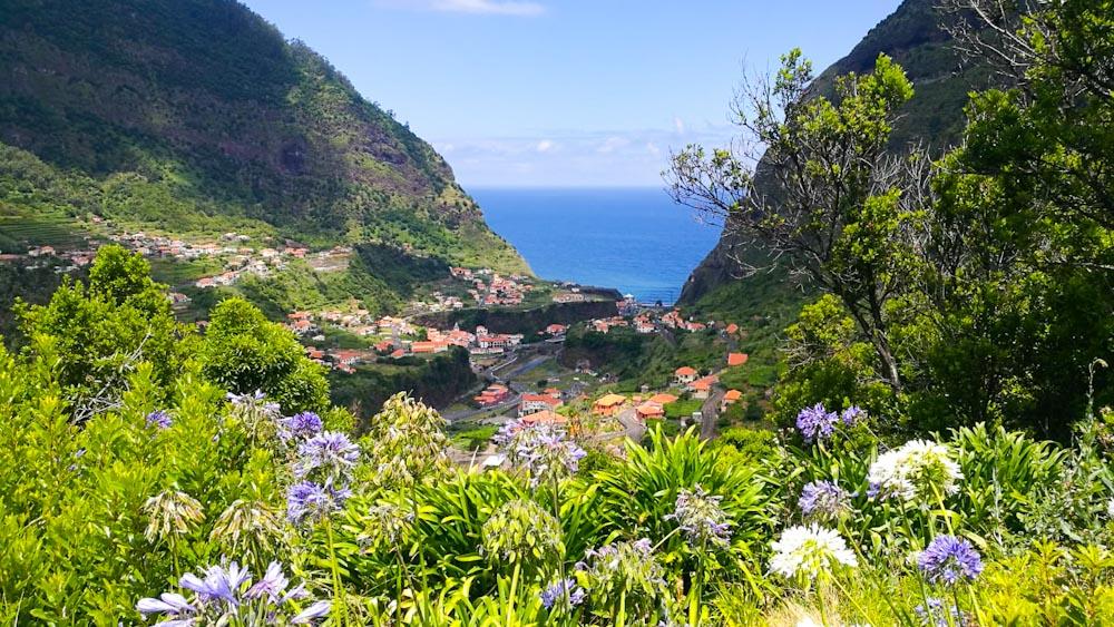 Ausblick von Boca da Encumeada