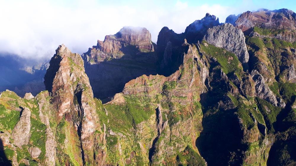 Wanderung Pico Ruivo Pico Arieiro