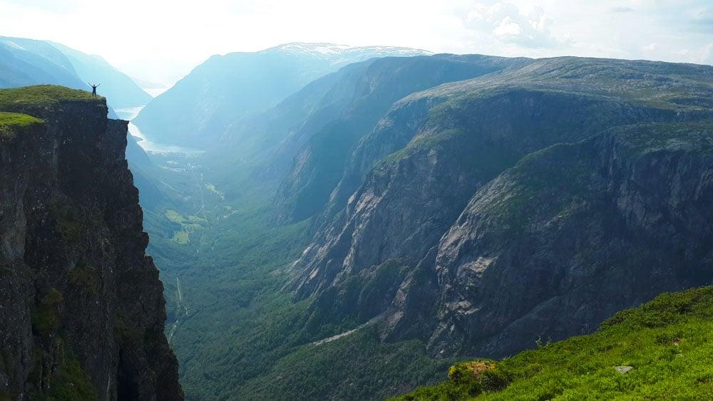 Ausblickspunkt im Hadangervidda Nationalpark