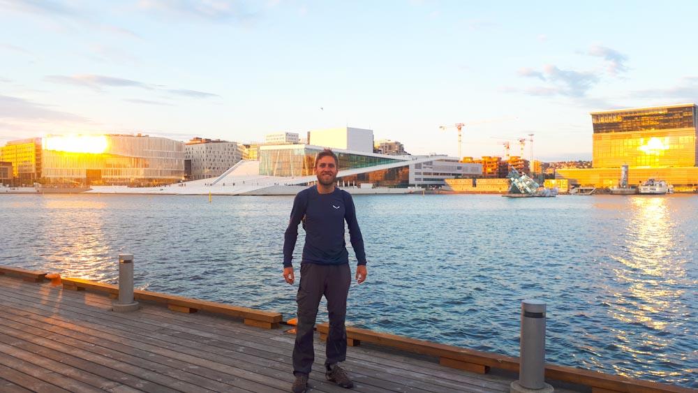 Blick auf die Oper Oslo