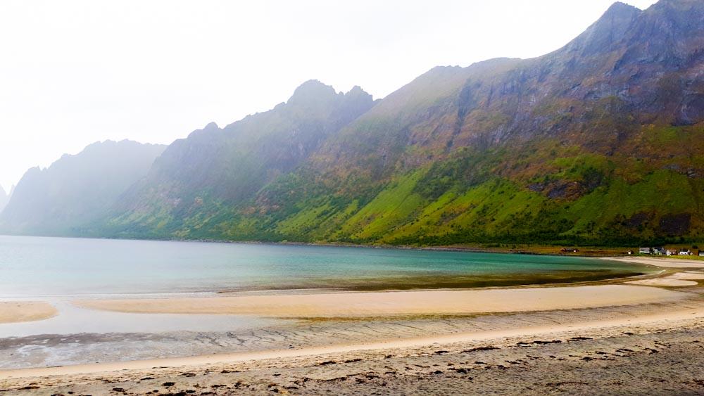 Strand auf Insel Senja