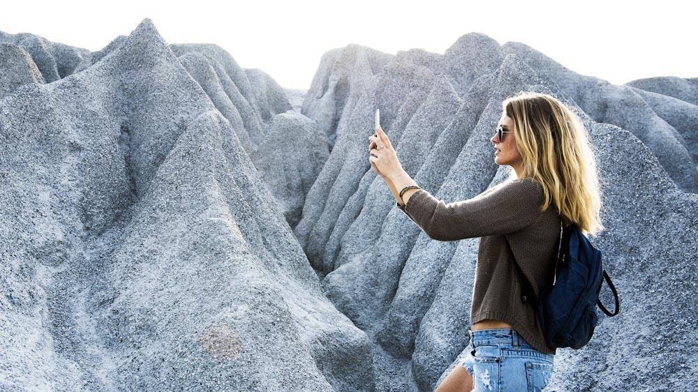 Mit dem Outdoor Smartphone ein Foto machen