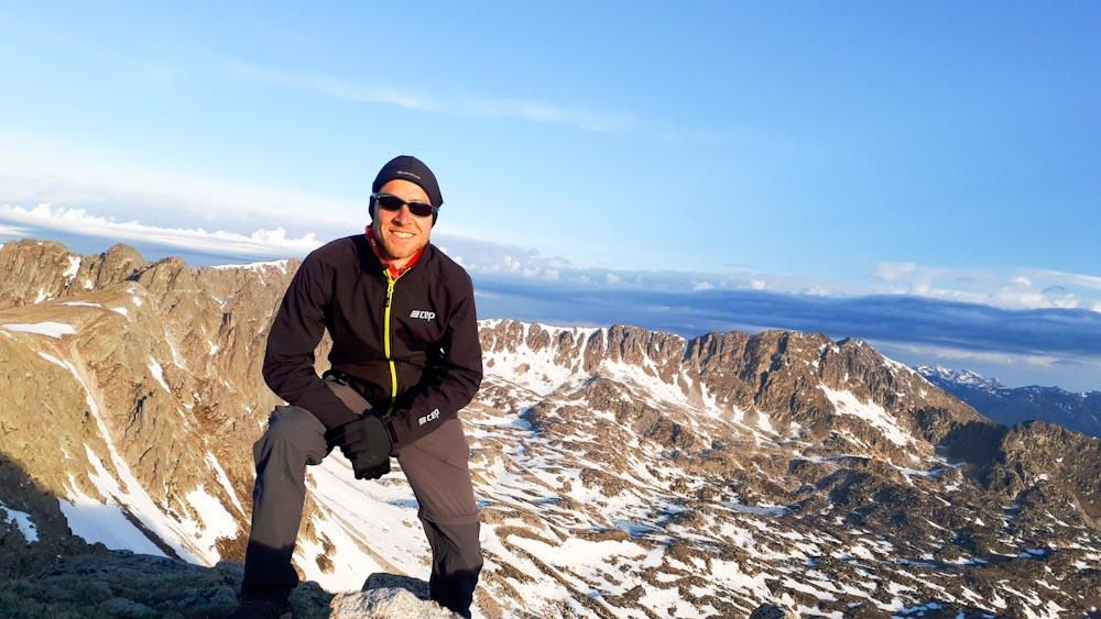 Trekkinghose für kalte Bedingungen in Bergen