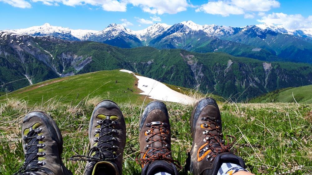 Wanderschuhe, das A&O in den Bergen