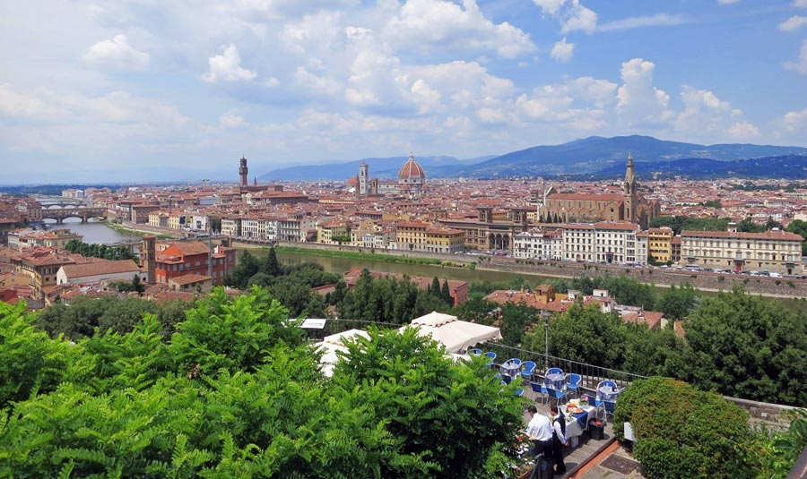 Florenz Sehenswürdigkeiten: Piazzale Michelangelo