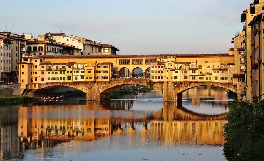 Ponte Vecchio, alte Brücke, Florenz