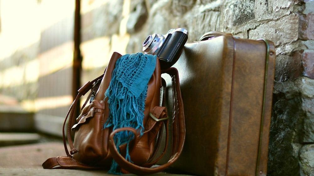 Anti-Diebstahl Rucksack: Tasche mit Wertsachen