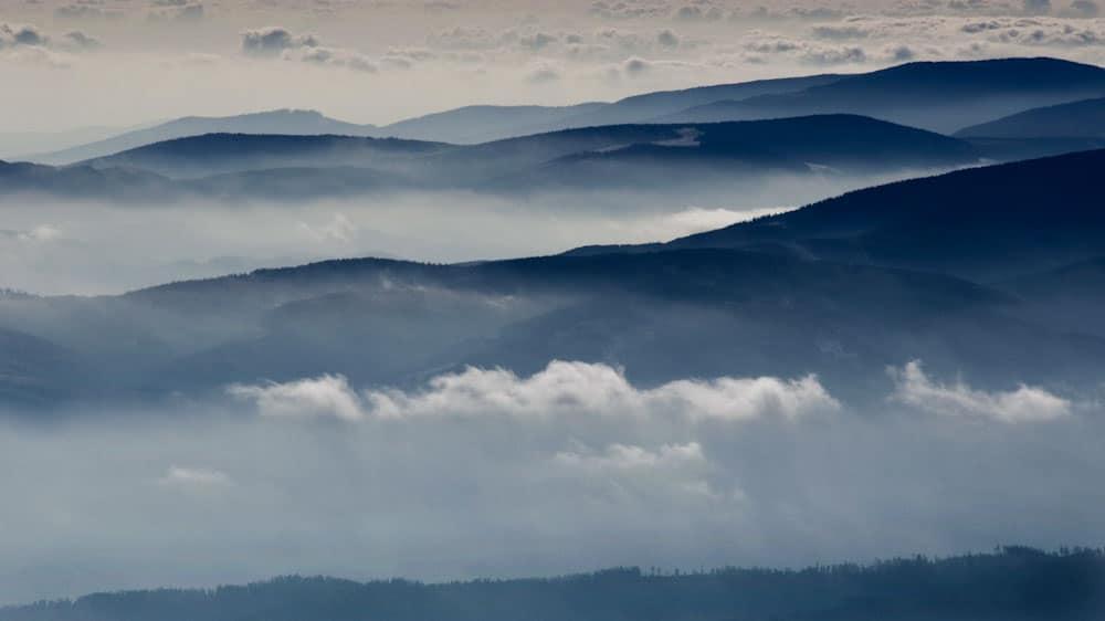 Karpaten Gebirge in Rumänien