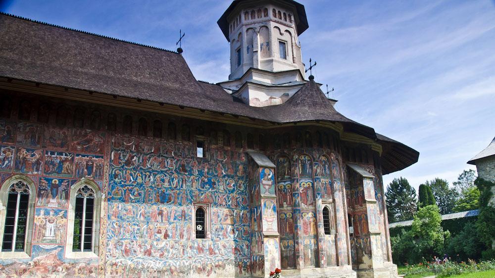 Kloster Moldovita in Rumänien