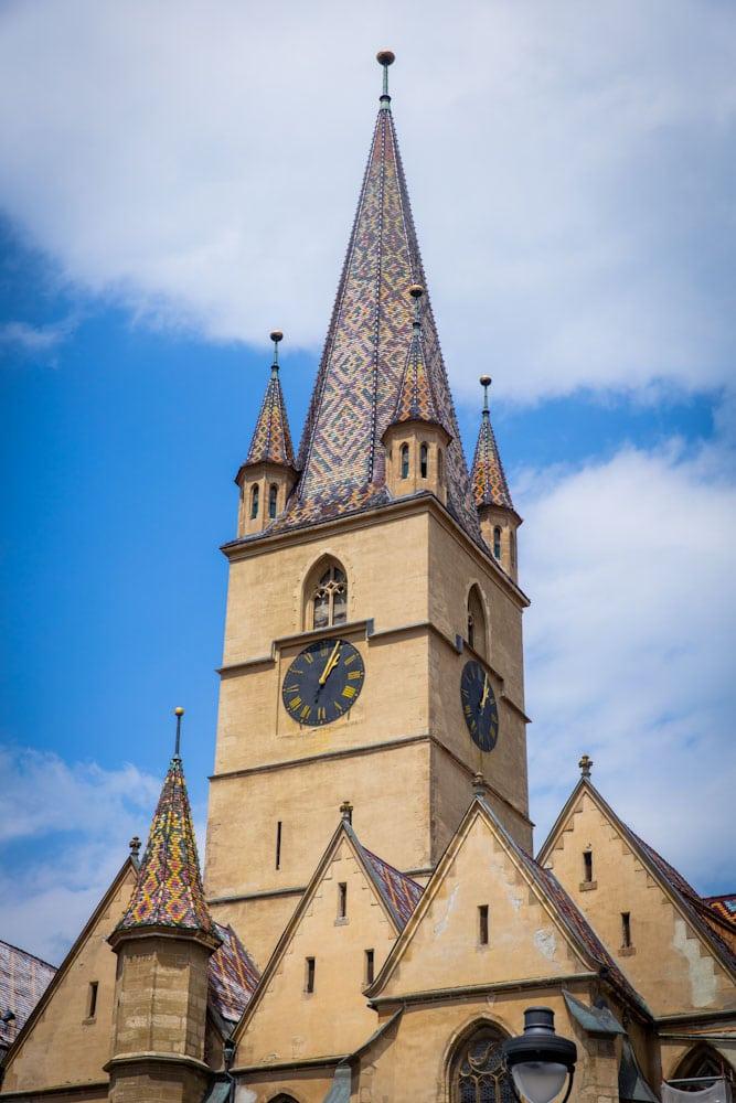Kirche in Sibiu, Rumänien