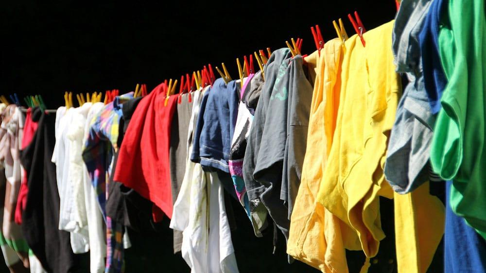 Vakuumbeutel Reisen: keine Gerüche der Wäsche