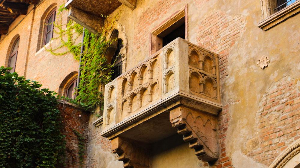 Balkon Romeo und Julia, Verona