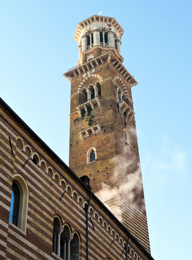 Lamberti Turm in Verona