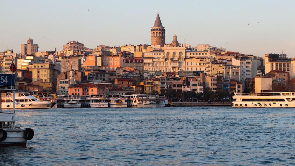 Ein Urlaub in Istanbul füllt das Reisetagebuch