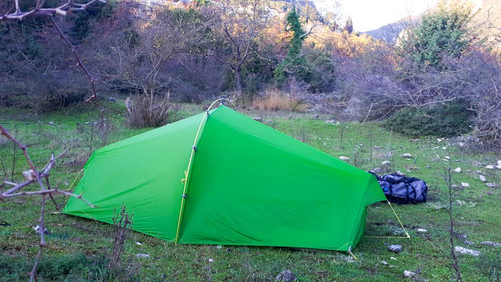 Ultraleichtes Zelt: Für Trekking & Wandern