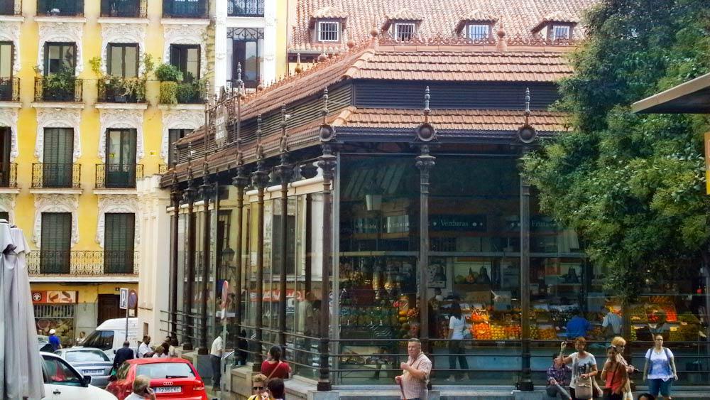 Mercado San Miguel, Madrid Sehenswuerdigkeiten