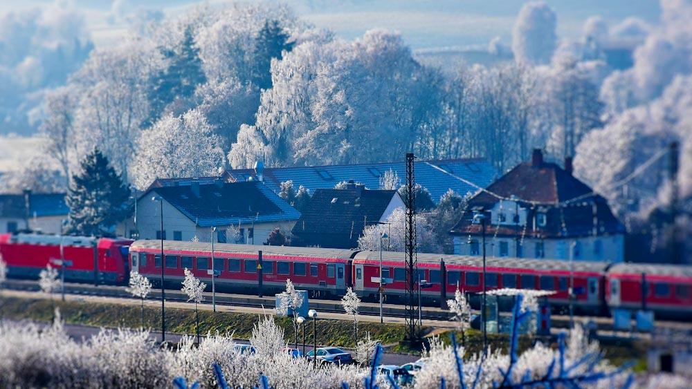 Nachhaltig Reisen mit dem Zug